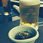 産直・北海道 - お通しとビール