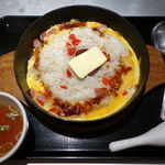 らあめん花月嵐 - 料理写真:鉄板イタめしジャンバラヤ味 570円