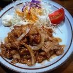 奈加野 - 豚肉の生姜焼き