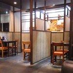 麺屋 富貴 - テーブル席
