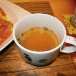 モカカフェ - オニオンコンソメスープ