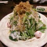 2880101 - 水菜とじゃこのサラダ