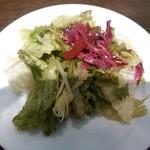 28800546 - サラダセット(200円)の旬野菜のサラダ