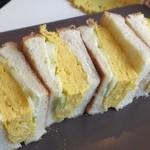 カフェ アリエッティ - だし巻き玉子サンドイッチ