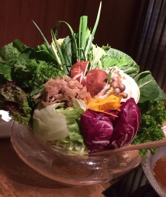 やさい家めい 上野店 - 野菜しゃぶしゃぶの野菜