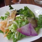 SAWAS食堂 - サラダは彩りがきれい