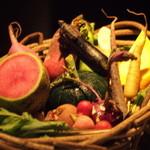28801966 - [地場野菜]色々なお野菜を説明して下さりました。