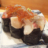 漁師伝説あさまる - 料理写真:あさまる軍艦寿司(940円・外税)