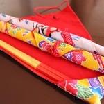 サン&ビーチおji~とおBAR - 女将手作りの箸袋