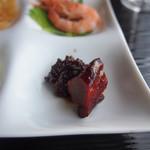 中国料理 カリュウ - 大和豚の角煮、穴子