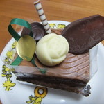 菓子工房 吉野 - チョコのケーキ