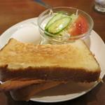 フジオ珈琲 - トースト モーニング