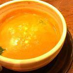 神虎 - 季節限定スープ 担々麺風