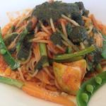 フォンターナ デル ヴィーノ - 塩尻野菜とバジルのトマトソース