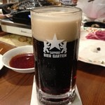 サッポロビール園 ジンギスカンホール - 黒生。