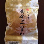 28814286 - 三笠山の上を行く高級どら焼き、黄金三笠山。