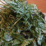 焼き鳥と野菜串のCOCOZO - てんこもりシーザーサラダ(ワサビ味)