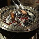 三先 肉焼屋 - 厚切りタン