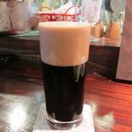 BEER HOUSE 福舎 - アサヒ ドライ ブラック 専用グラス(420ml)