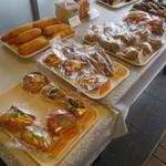 ベーカリー柳月堂 - 殆どのパンが袋入りで