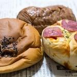 伊藤パン - 菓子パン3個で110円(増税後)2014.07