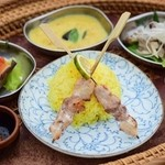 摩波楽茶屋 - アジアンランチセット