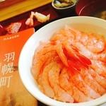 北のにしん屋さん - 週末は羽幌へドライブ〜甘海老丼食べに行きました(ノ´∀`)ノこれで1000円‼︎甘くてたまらんんん♡
