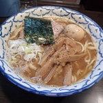 兎に角 松戸店 - ラーメン(大)+燻玉900円