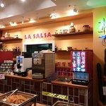LA SALSA - ドリンクバーも充実。ソフトクリームもありますよ!