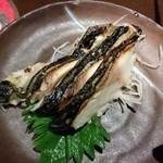 白木屋 - 炙り漬け〆鯖刺し♪