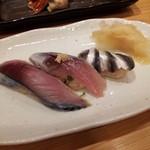 Tsukijikagurazushi - 鯖、鰯、新子