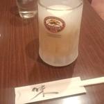 丸味亭 - 生ビール