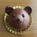 28825774 - くまさんのチョコケーキ☆