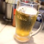 あひる ビアホール - 生ビール