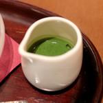 伊右衛門サロン - 濃茶ソース  '14 4月下旬