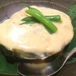 白雪 - 賀茂なすの冷やし煮物 ごまあんかけ(¥480)
