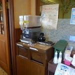 粉とクリーム 石窯夢工房 - コーヒー、紅茶の無料サービスが実にありがたい。