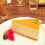 28827843 - マンゴーレアチーズケーキ