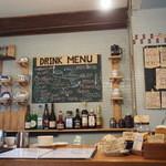 ミルコーヒー&スタンド - DRINK MENUなどのMenu Board