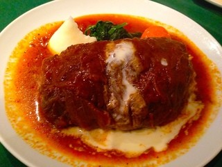 ロシヤ料理 ラルース - ランチセットの『キャベツロール』¥2960