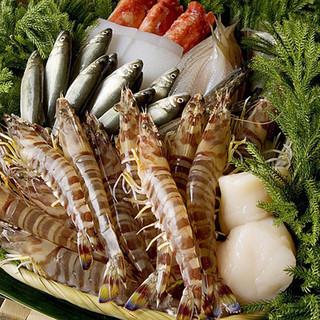 瀬戸内海の魚貝が中心です