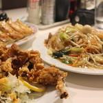 餃子の王将 - 料理写真:餃子/チューリップ