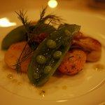 ビストロ キフキフ - コース(前菜:牡蠣と金柑)