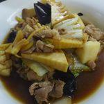 キッチン北川 - 豚肉のオイスターソース炒め