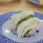 無添くら寿司 - えんがわ108円
