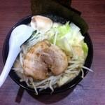 魂心家 - 野菜ラーメン 780円