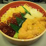 28832354 - ウニイクラ丼 中(1860円)