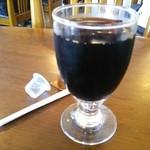 ひの亭 - 2014.07再訪 日替わりランチのアイスコーヒー