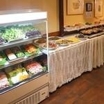 ヘルシー韓友家 - ランチバイキング料理20種類、飲み物8種類