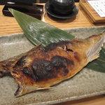 原始焼・二代目・魚々子 - 刻鯖の焼き上がり!
